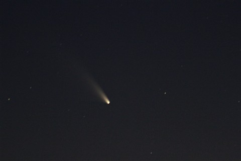 Comet PanSTARRS 1 March 8.04pm WAST