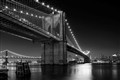 Nightview Brooklyn Bridge New York
