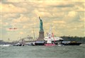 Shuttle Enterprise and Lady Liberty