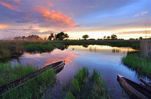 okavango sunset 2