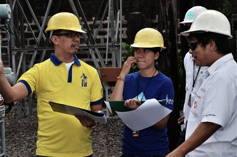 Hard-Hatted Discussion