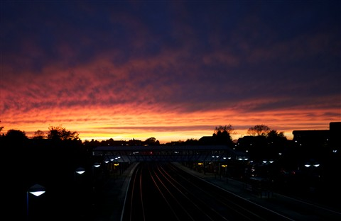 Newbury Sunset