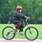 Geoff Cycling on Track