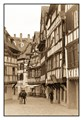 The old town of Strasbourg has the old time vibes.