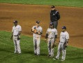 Unhappy Brewers and Umpire