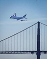 747 Golden Gate Bridge Flyover