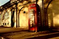 Telephone booth at temple street