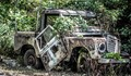 Wrecked out Jeep