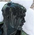 a cold bronze