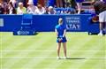 Ball Girl and tennis