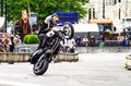 Stunt Driving Competition on Viennas Townhall Square (Austria) sponsered by  Red Bull
