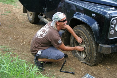Puncture, Guadeloupe