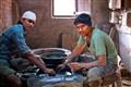 Agate polishers in Khambhat