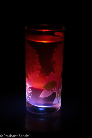 Cranberry with Light Beam