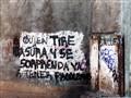 Warning Sign, Oaxaca, Mexico