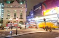 Piccadilly Alive at Night