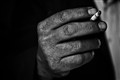 smoker hands