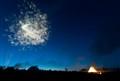 Gamla Uppsala Valborg fireworks