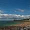 Cloud belt above the Saint-Jean-de-Luz (Donibane-Lohizune) beach