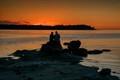 Sunset Craig Bay BC