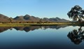 Serra Range reflections panorama