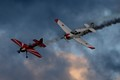Stunt Planes by Father and Son