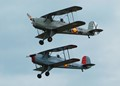 Two biplanes