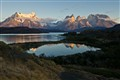 Sunrise in Torres Del Paine