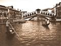 Venice Grand Canal Ponte Rialto