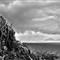 samui-island-view-sea-tree-cliff-black-and-white