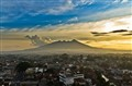 Sunset View of Salak Mountain