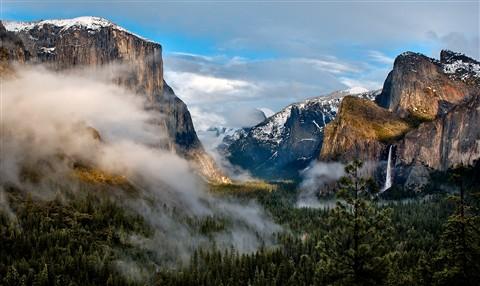 Yosemite Valley-Yosemite National Park