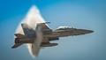 F-18 Goes Super Sonic