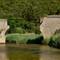 Corsica - former railway bridge across river Canella