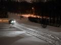Snowplow at Dawn