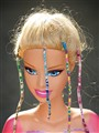 Barbie's bad hair day.