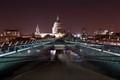 St.Pauls Across Millennium Bridge