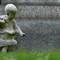 boy statue Cimitero monumentale milano