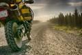 On the road thru Labrador