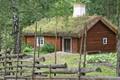 Swedish Sod Roof Cabin