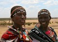Women in the Maasai Mara National Reserve, Kenya