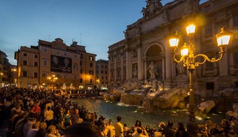 Rome_Trevi Fountaine