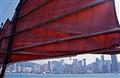 Junk Sail in HK