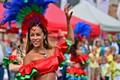 Brazilian summer carnival