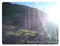 Sun rays in mountain of Sikkim