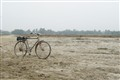 Bicycle in sand