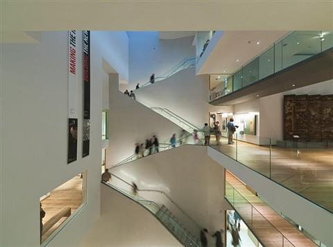 Ashmolean Museum atrium, Oxford