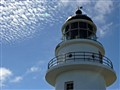 Lighthouse under the blue sky