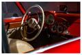 A classic analog dash of a beautiful 1954 Alfa Romeo 1900 C SS Ghia from the Toronto Auto Show.