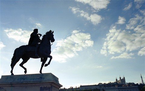 Statue Place Bellecour, Lyon